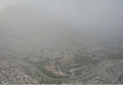 آلودگی هوای خرم آباد